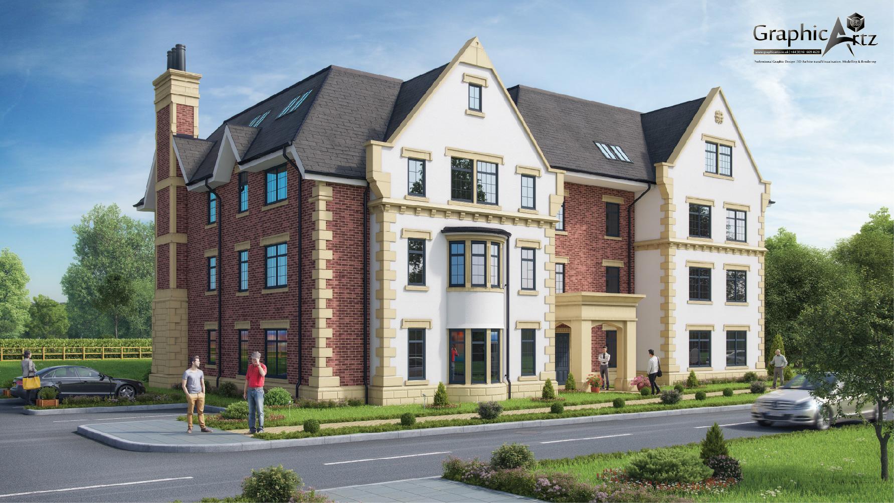 Hickory Grange Whitefield CGI