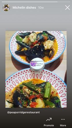 Pea Porridge Michelin Restaurant