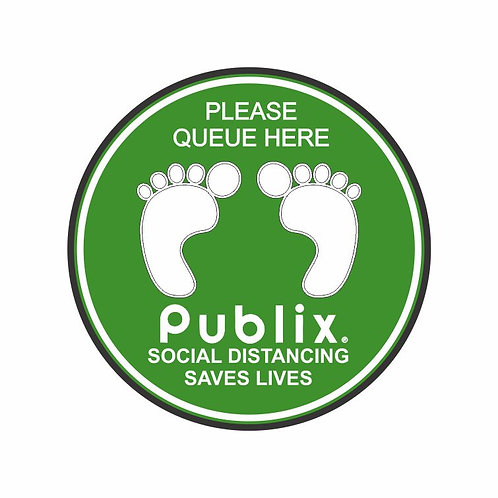 Publix Social Distance Marker