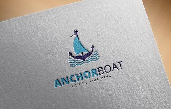 Anchor Boat Logo
