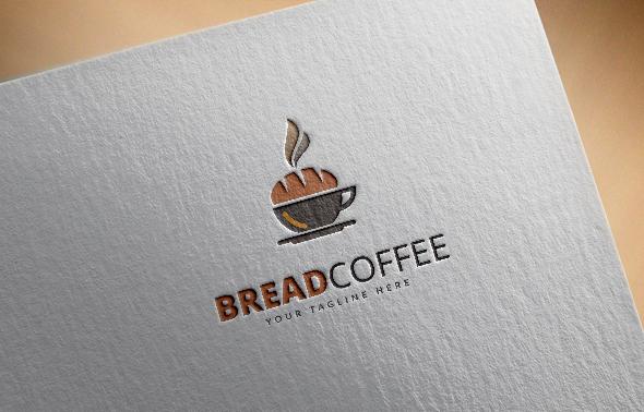 Bread Coffee Logo