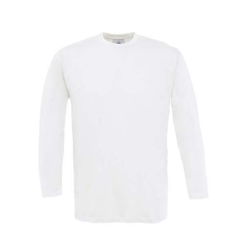 T-shirt B&C Exact 150 manga comprida - 100% Algodão