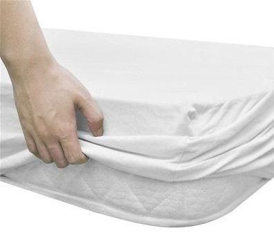 Lençol ajustável hotelaria - 50% algodão / 50% poliéster