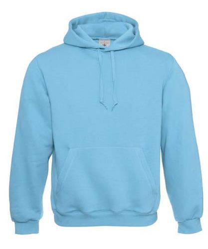 Sweatshirt B&C Hooded 280g - 80% Algodão escovado/ 20% Poliéster