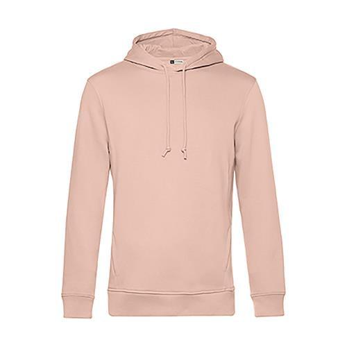 Sweatshirt B&C Organic Hooded 280g - 80% Algodão orgânico, 20% Poliéster recicla