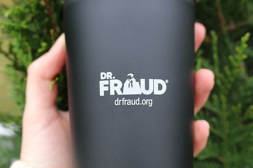 Dr. Fraud Travel Mug