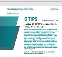 Medical Billing Fraud Investigative Tips