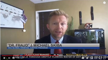 COVID Tracking Scams - NBC KOAA News 5 Interview    Patrick Nelson interviewed Dr. Fraud on NBC KOAA News 5 all about COVID tracking and how to keep you safe.
