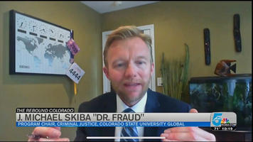 COVID Scams-KOAA5 News Interview.  In this video, Dr. Fraud, talks about the top COVID scams to watch out for in this KOAA 5 news interview.
