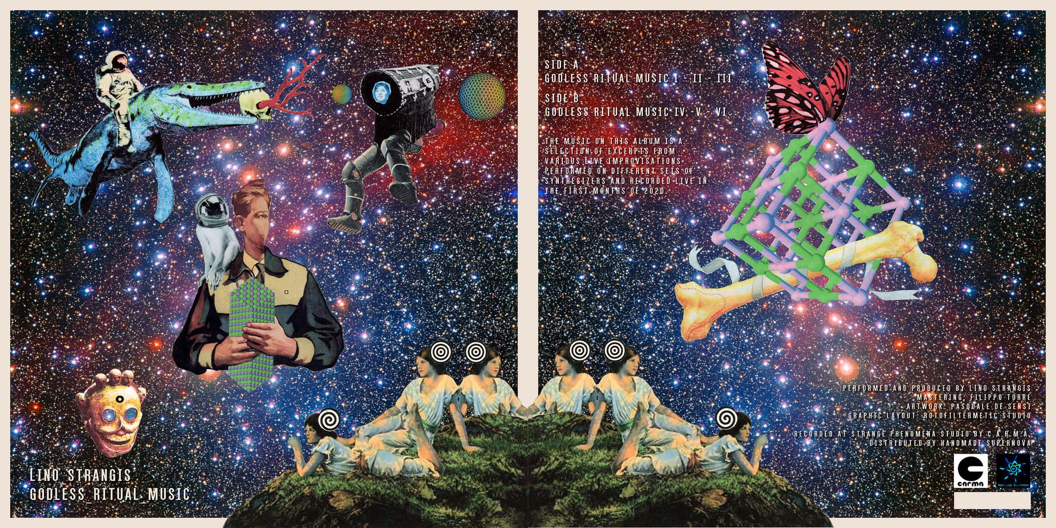 Lino Strangis, Godless ritual music, cov