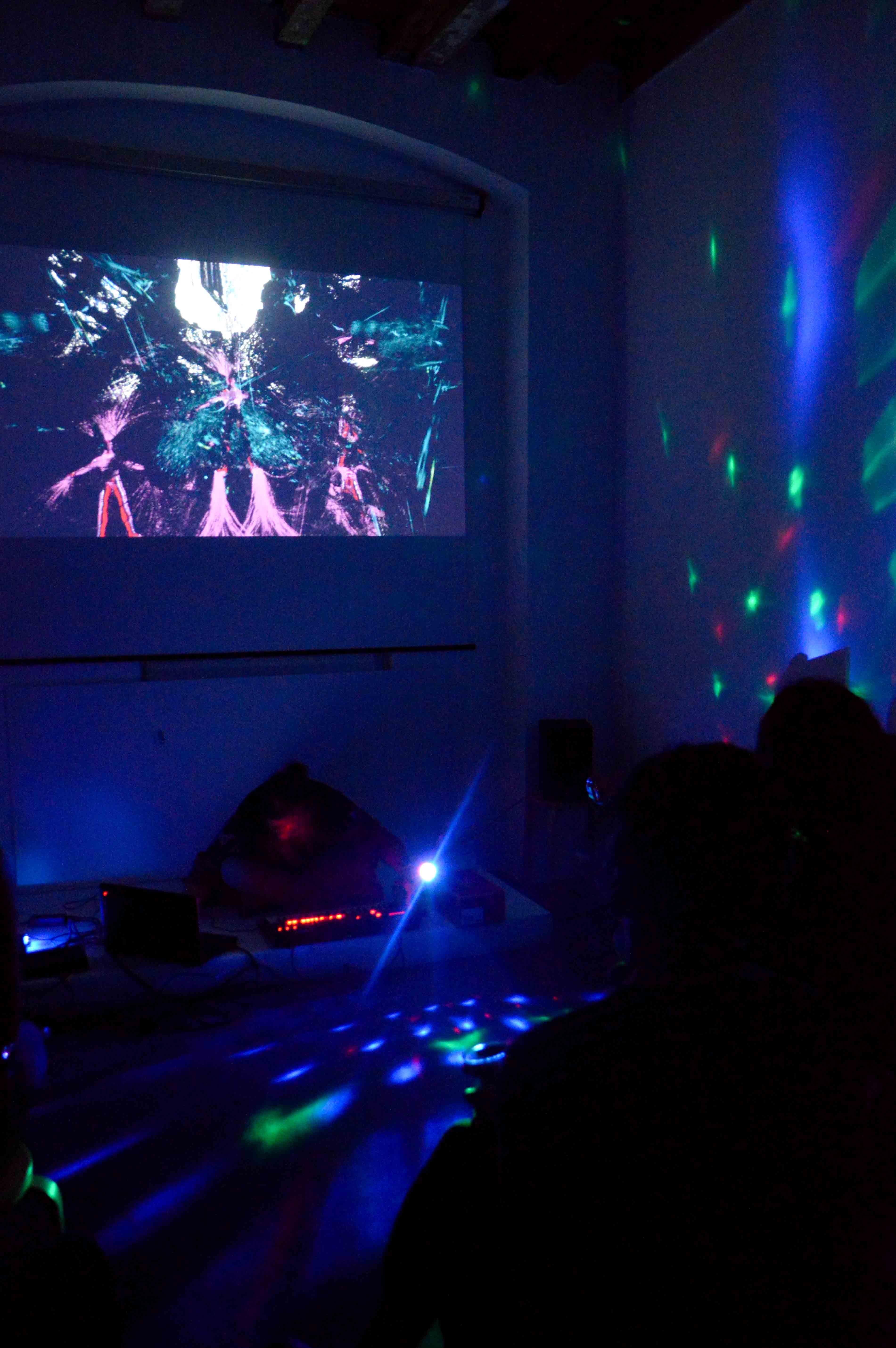 Performance multimediale di Lino Strangi