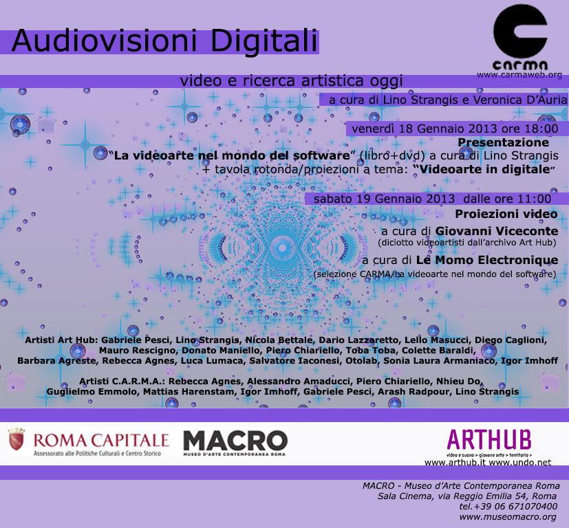 Audiovisioni digitali
