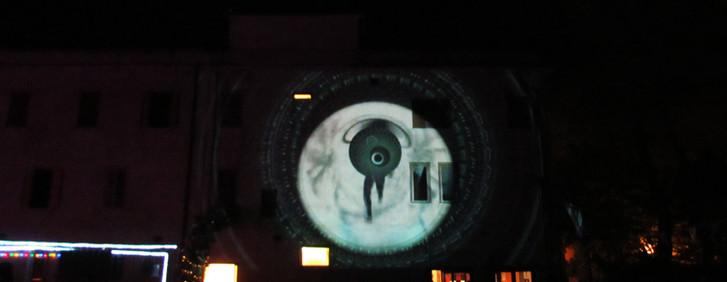 Videomapping su Ostello Magliano Sabina