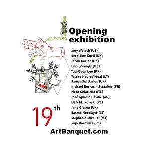 Art Banquet, online exhibition, 19nov-19