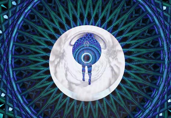Running in subatomic meditation, 2017, 4