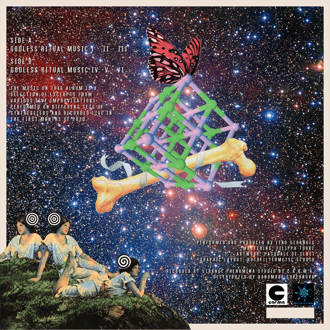 L.Strangis,  Godless ritual music -back