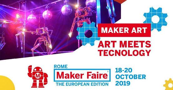 Maker Art / Maker Faire Rome -The Europe