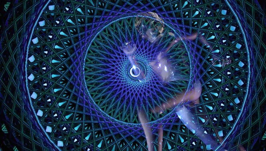 Running in subatomic meditation