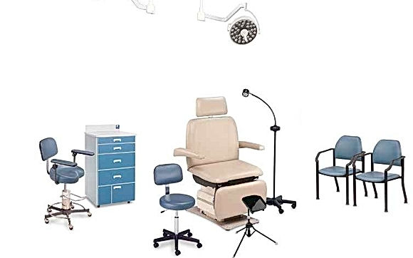 MTI Wound Care Chairs