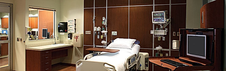Hospital Medicl Equipment, Headboard, Monitor, Casework