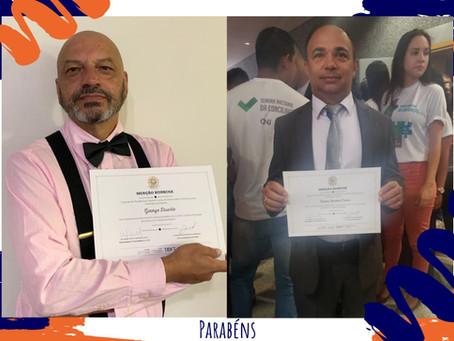 Mediadores do Centro de Mediadores recebem Menção Honrosa do TJDFT