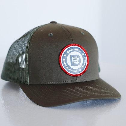 Circle Logo Snapback (Military Green)
