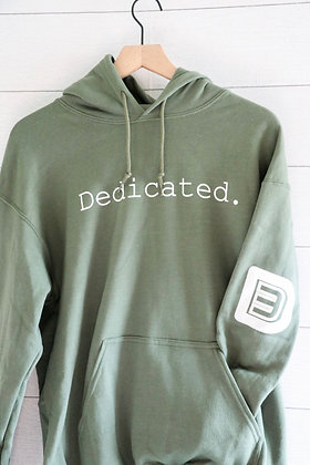 Dedicated. (Military Green)