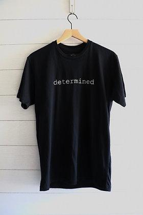 determined Tee (Black)