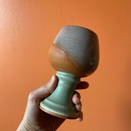 A wine goblet I completed this month for