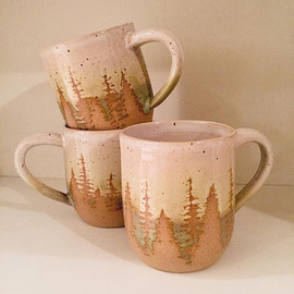A couple of mugs I recently completed fo