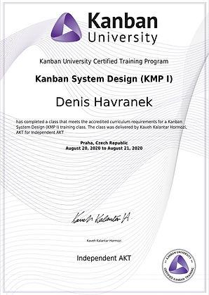 Kanban System Design - KSD - Kanban University Certification