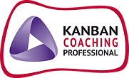 Kanban Coaching Professinal (KCP) certificatin and credential badge.