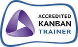 Accredited Kanban Trainer (AKT) Badge - Kaveh Kalantar Hormozi - Prague, Czech Republic.
