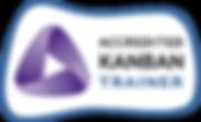 Accredited Kanban Trainer (AKT) Badge - Kaveh Kalantar Hormozi - Prague, Czech Republic.