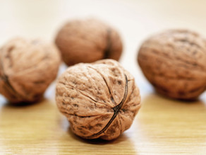 Walnuts look like a brain...and they are good for your brain!!!