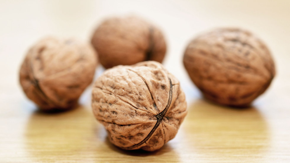 Walnut Shelled
