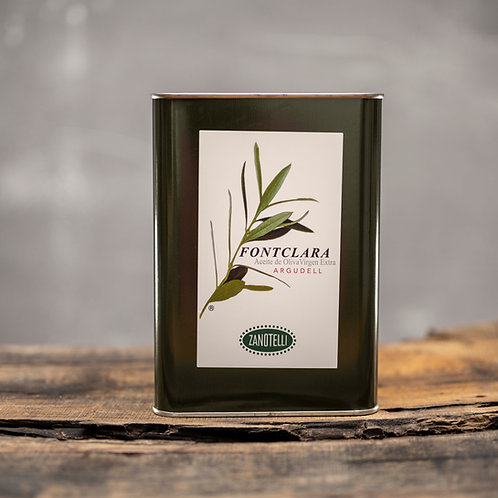 Fontclara Aceite de Oliva Virgen Extra Argudell 3l (Kanister)