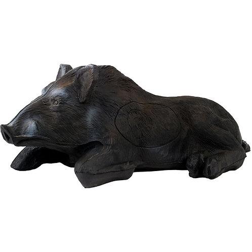 Lying Wild Boar