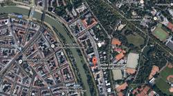 Satellite image Danube