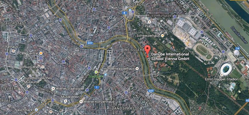 Satellite image Vienna