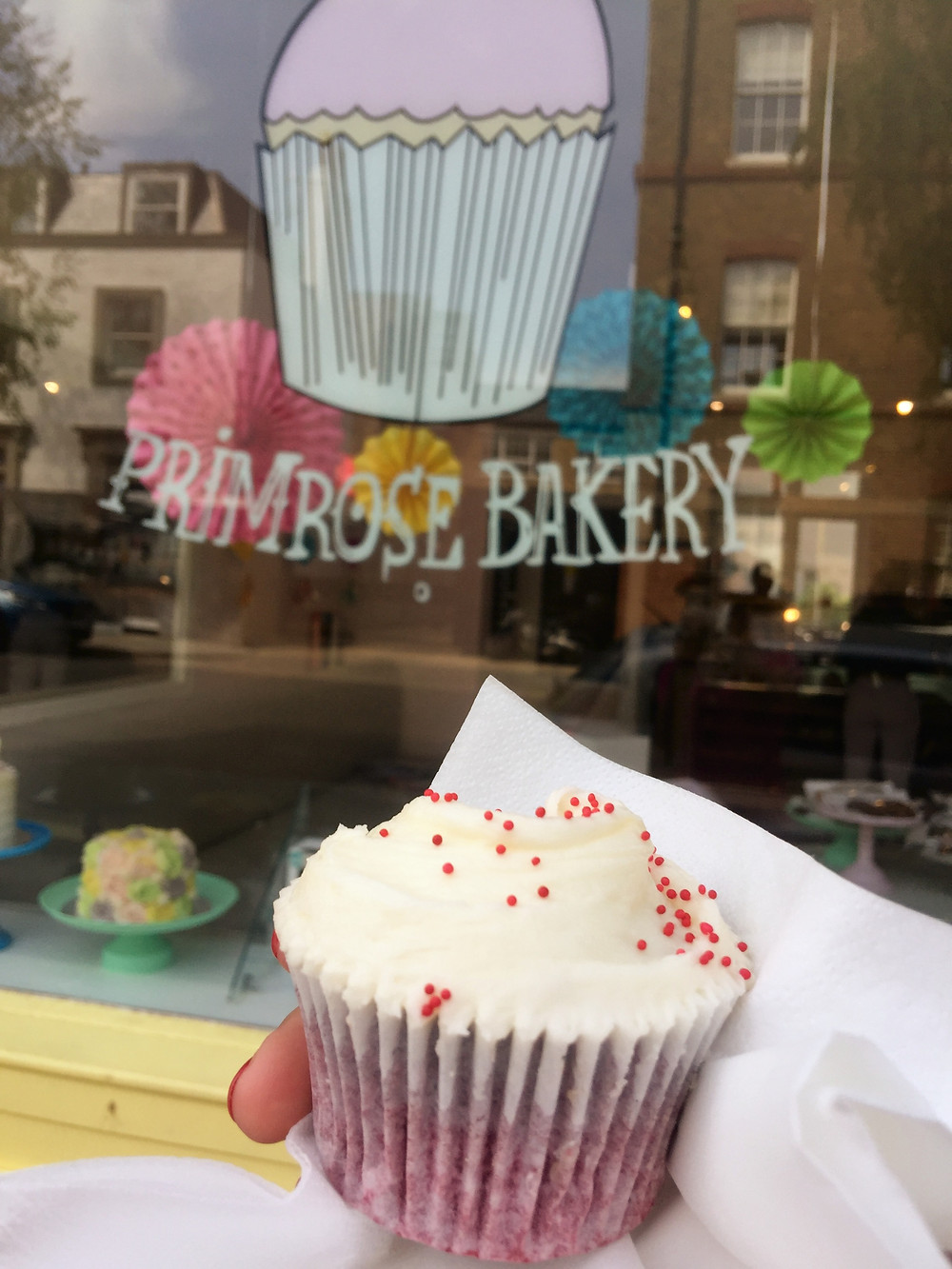 London, cupcake, bakery, Primrose Hill