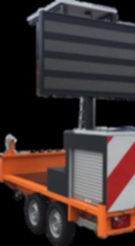 Signalisation lumineuse, signalisation embarquée, balisage, panneau messages variables, triangle de toit, gyrophare, équipement de véhicule