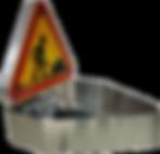 Triangle électrique de signalisation