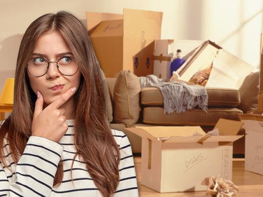 Saiba como separar e organizar sua casa para mudança