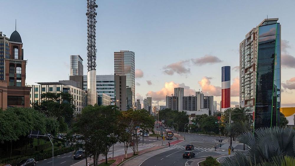Bairro nobre de São Paulo. Bairro Morumbi.