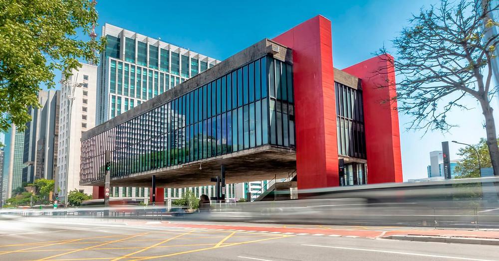 Museu de artes de São Paulo. Ponto Turístico em Sâo Paulo