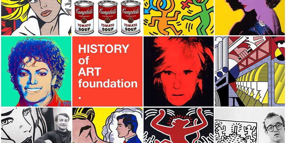 """HOAF Лекция """"Современное искусство: Американский Поп-Арт + Рой Лихтенштейн"""""""