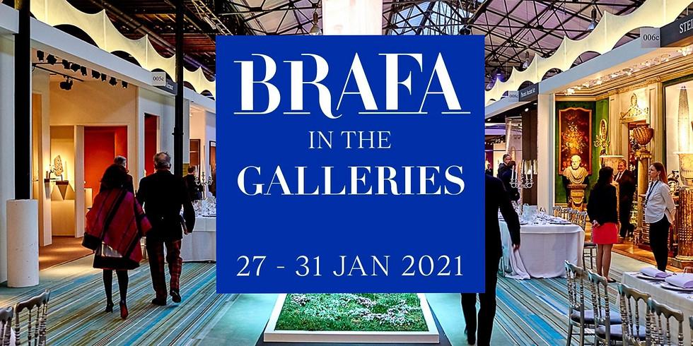 HOAF Посещение галлерей BRAFA Art Fair в Барселоне