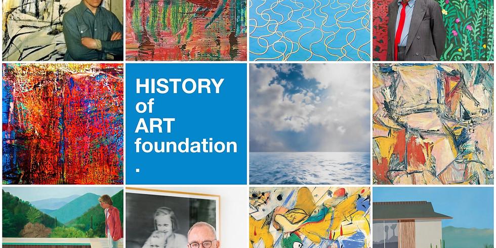 """HOAF Вебинар """"Современное искусство: Виллем де Кунинг, Дэвид Хокни, Герхард Рихтер"""""""