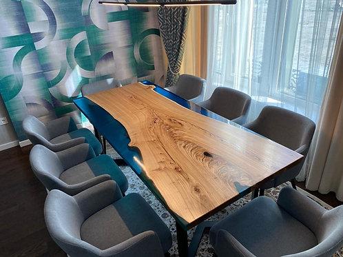 Стол 2000*900 с обрамлением из полимера